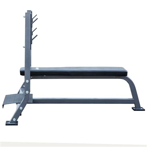 bench with spotter olympic bench w spotter stand fitness exercise weight