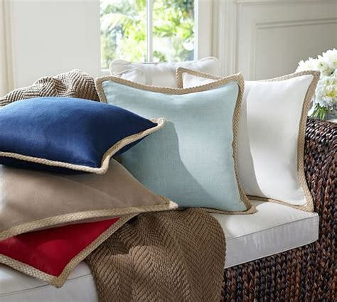 Covers Pottery Barn by Jute Braid Pillow Cover Pottery Barn