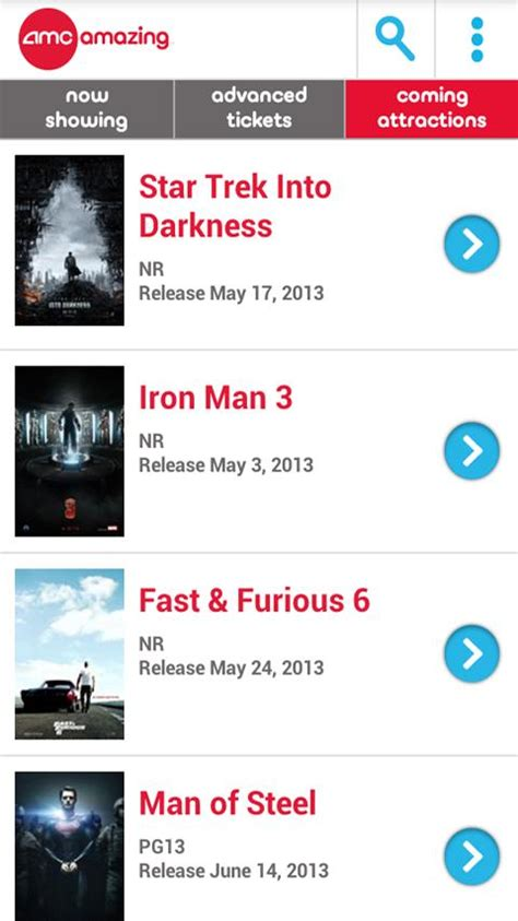 amc app for android amc theatres android apps on play