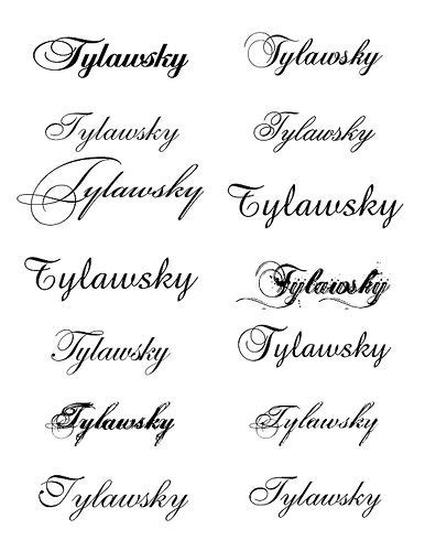 cursive tattoo fonts for men fonts for my hubby fonts