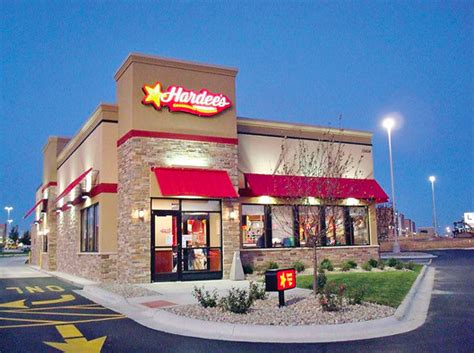 hardee s fast food restaurant planned in brick first in n