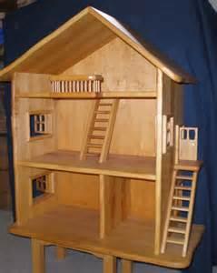 puppen haus dreigeschossiges puppenhaus aus holz puppenhaus