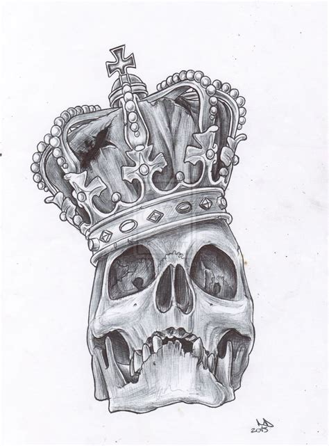 skull with crown tattoo designs with crown buscar con jsmt