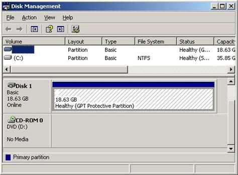 format disk gpt protective partition what is a gpt protective partition
