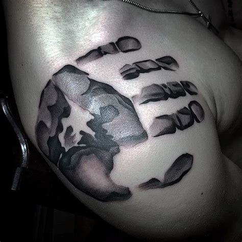tattoo printer ink 60 handprint tattoo designs for men impression ink ideas