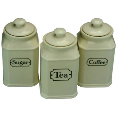 ceramics canister sets and canisters on