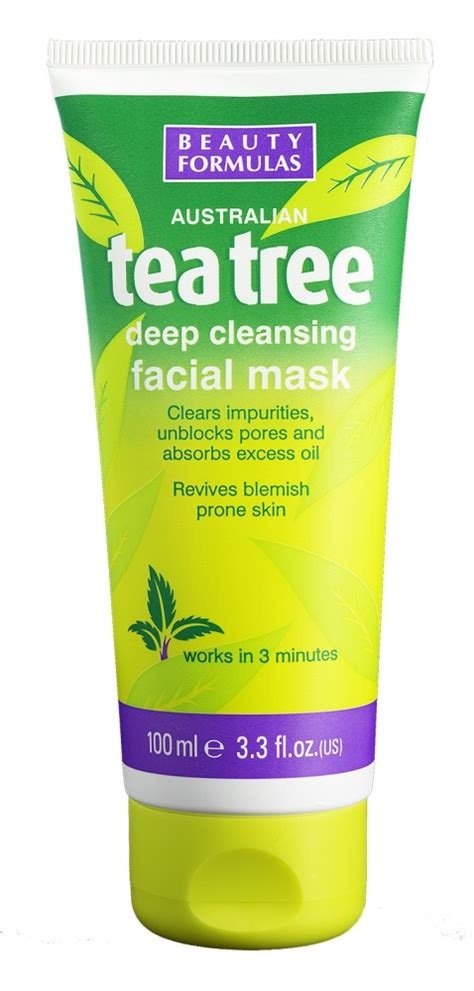 Tea Tree Mask 100ml formulas reinigende tea tree maske tea tree