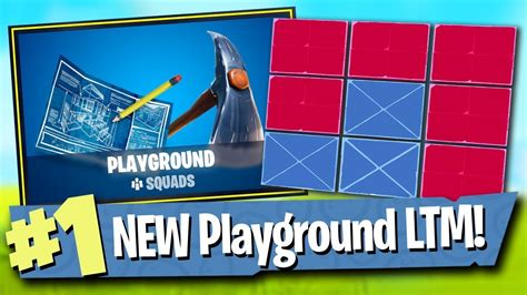 fortnite playground ltm gameplay  patch notes