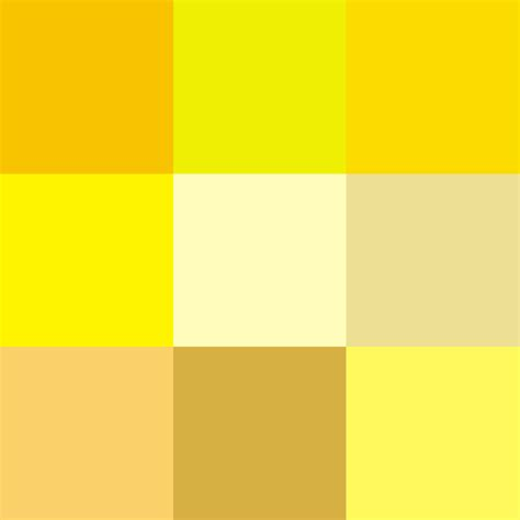 Yellow Shades | file shades of yellow png wikimedia commons