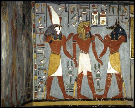 imagenes pinturas egipcias materiales de clase