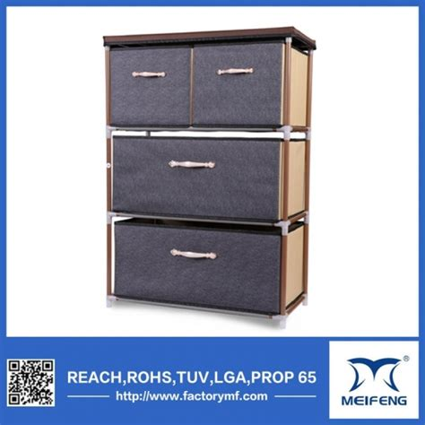 07 Multi Fucntion Wardrobe With Cover 2016 china supplier fabric storage box products 2016