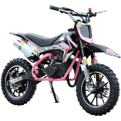 pink motocross bike renegade 50r 49cc petrol mini dirt bike moto cross