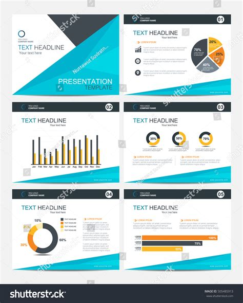 powerpoint set template business presentation template set powerpoint layout stock