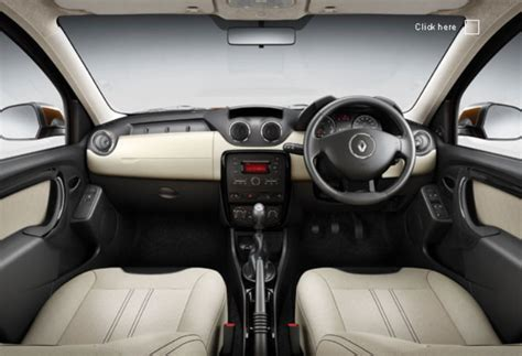 Duster Top Model Interior by Renault Duster Interior Dashboard1 Carblogindia