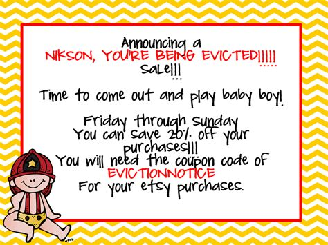 printable baby eviction notice pregnancy eviction notice hot girls wallpaper