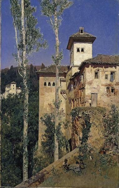 De Alhambra 4353 by The Landscape Painter Mart 237 N New Museo Nacional