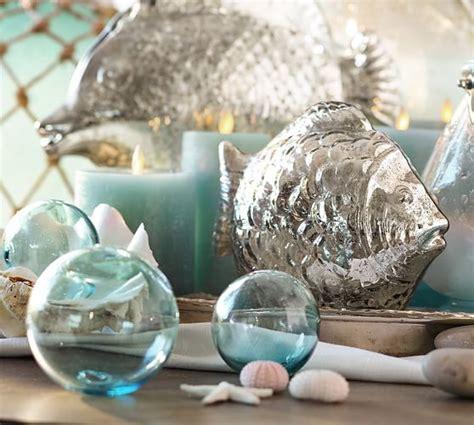 recycled glass balls recycled glass balls set of 3 pottery barn