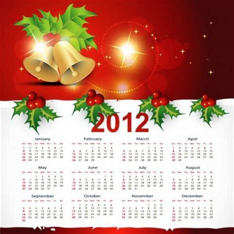desain kalender natal natal gaya kalender vektor grafis vektor natal vektor