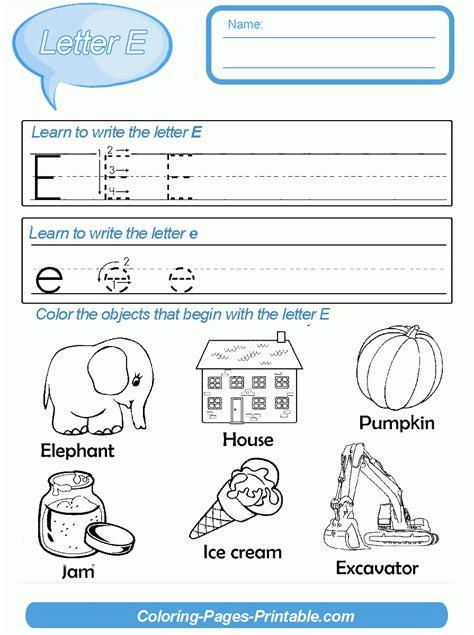 kindergarten letter writing template