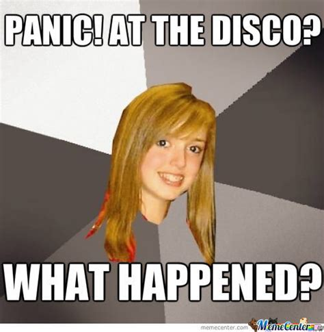 Panic Meme - panic at the disco by derkonig meme center