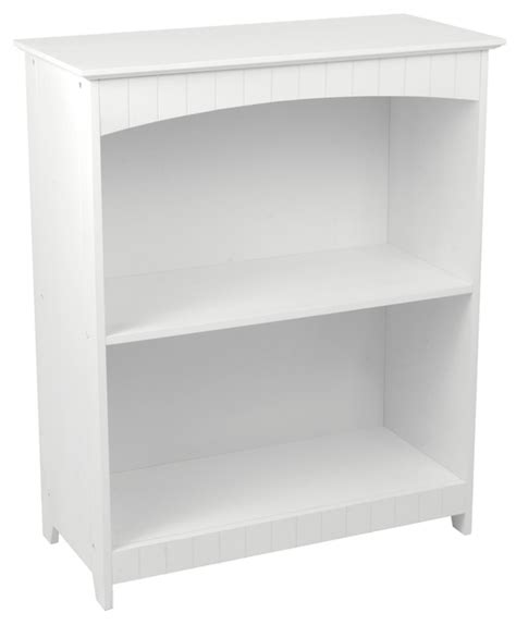2 shelf bookcase white white nantucket 2 shelf bookcase
