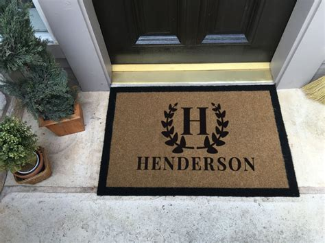 Custom Door Mats by The Most Durable And Custom Door Mat Available