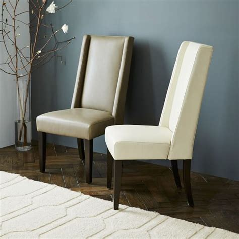 willoughby leather dining chair west elm