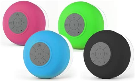 Compact Showers From The Bt 1101 bluetooth shower speaker groupon goods