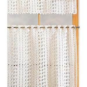 Crochet Cafe Curtains Cafe Curtains Crochet Kit