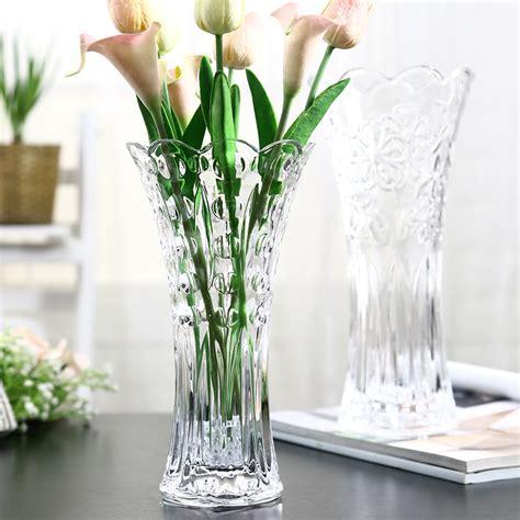vasi in vetro per fiori composizioni fiori secchi in vasi di vetro vu66