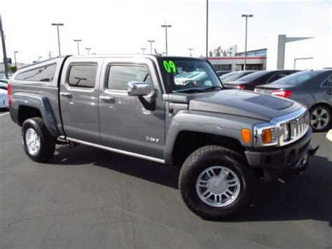 how can i learn about cars 2009 hummer h2 security system find used 2009 hummer h3t alpha crew cab pickup 4 door 5