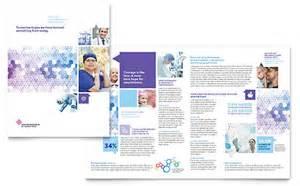 home health care brochure templates senior care services brochure template design