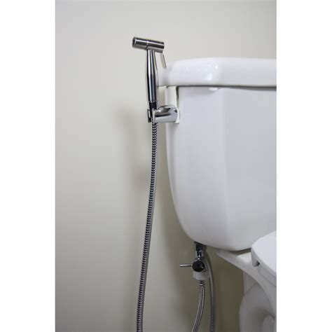 washroom bidet brondell cleanspa luxury held bidet sprayer clear