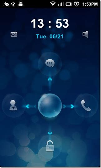 live lock screen android live locker sleek shortcut filled lock screen replacement android