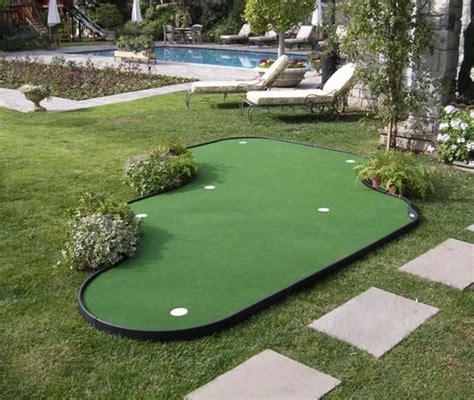outdoor indoor putting greens mats designs ideas