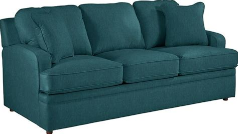 teal sleeper sofa teal sleeper sofa calamar teal upholstery memory foam