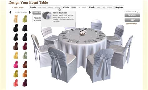 table tools design the best home table linens virtual design