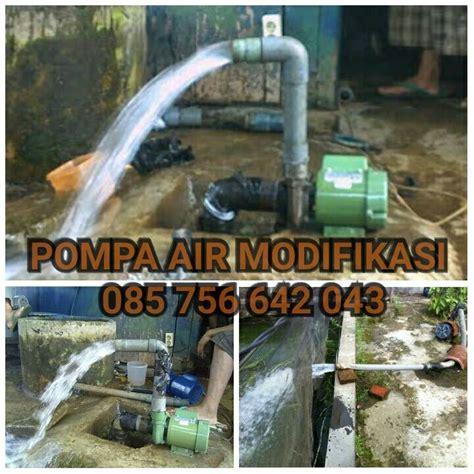 Pompa Kolam Ikan jual pompa air modifikasi untuk kolam ikan multi raya