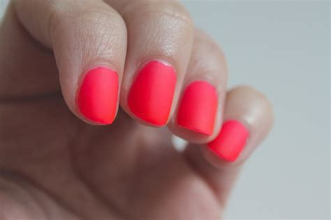 matte about you the matte neon manicure peanut buttered