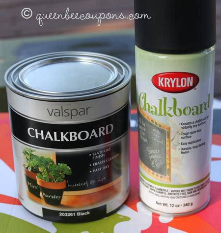 chalkboard spray paint joanns make your own chalkboard labels well sort of