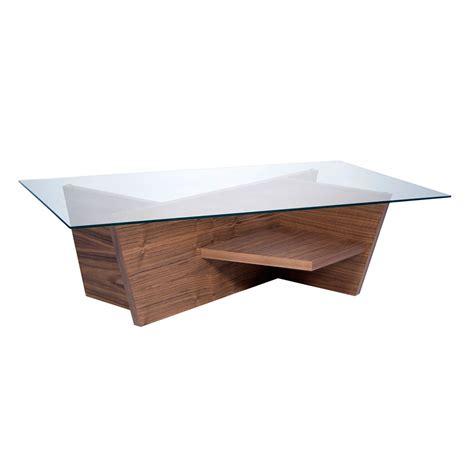 Modern Walnut Coffee Table Temahome Oliva Modern Walnut Coffee Table Eurway