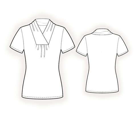 blouse sewing pattern 8004 made to measure sewing blouse with collar sewing pattern 4245 made to measure