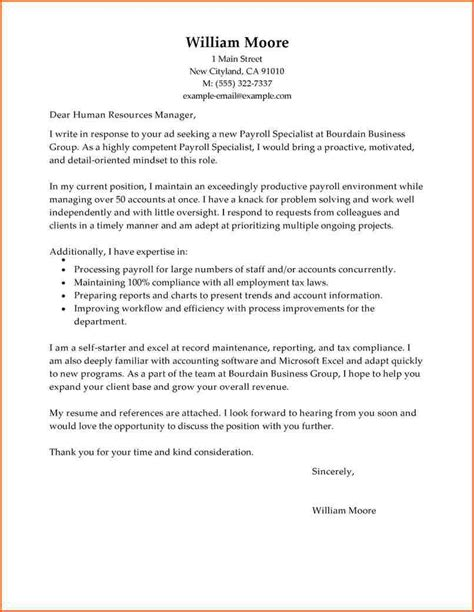 Sle Resume Cover Letter For Bookkeeper Cover Letter For Bookkeeper Sle Resume Cover Letter