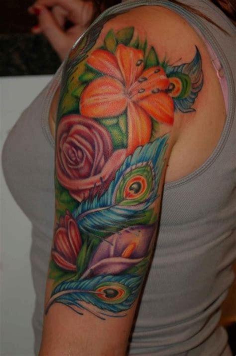 girly tattoo half sleeve designs tattoos girly sleeve