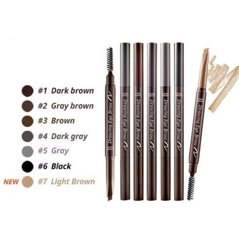 etude drawing eye brow grey brown daftar update harga