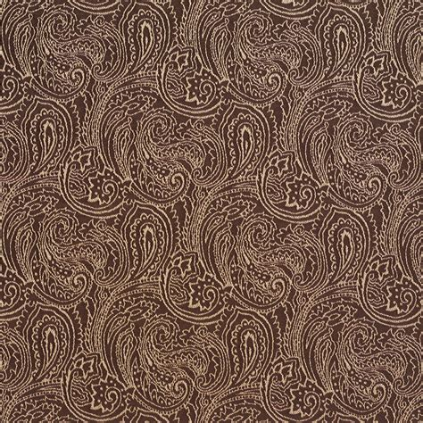 brown pattern fabric sable beige and brown abstract decorative paisley pattern