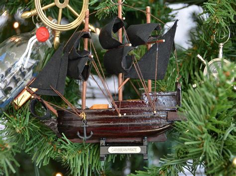 wholesale caribbean pirate model ship nautical christmas