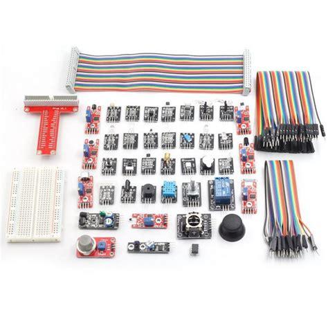 Sensor Kit Raspberry Pi 37 Module 37 sensor module kit for raspberry pi model b with gpio extension jumper alex nld