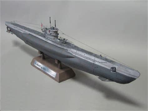 Papercraft Submarine - u boat type viic submarine papercraft papercraft