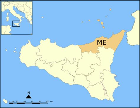 messina map image gallery messina map